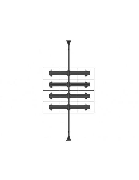 Multibrackets M Monitor Mount Fixed Pro 50/75/100 Multibrackets 7350073736300 - 7