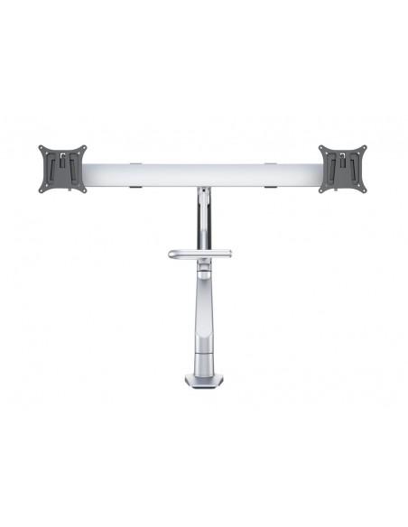 Multibrackets M VESA Gas Lift Arm w. Duo Crossbar 2 Silver Multibrackets 7350073736362 - 3