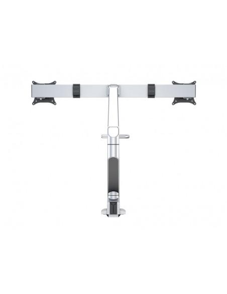 Multibrackets M VESA Gas Lift Arm w. Duo Crossbar 2 Silver Multibrackets 7350073736362 - 5