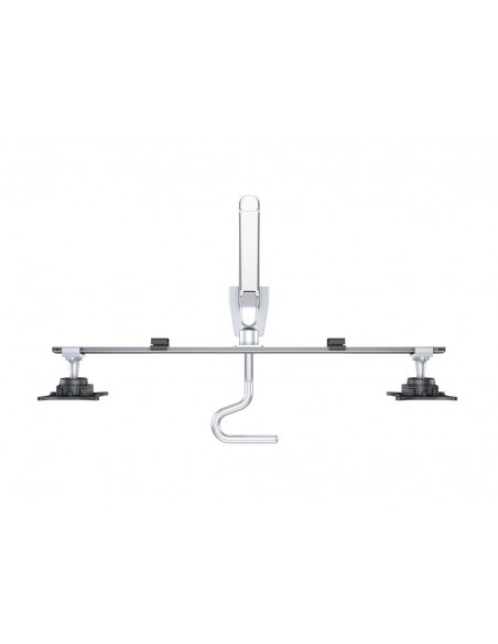 Multibrackets M VESA Gas Lift Arm w. Duo Crossbar 2 Silver Multibrackets 7350073736362 - 7