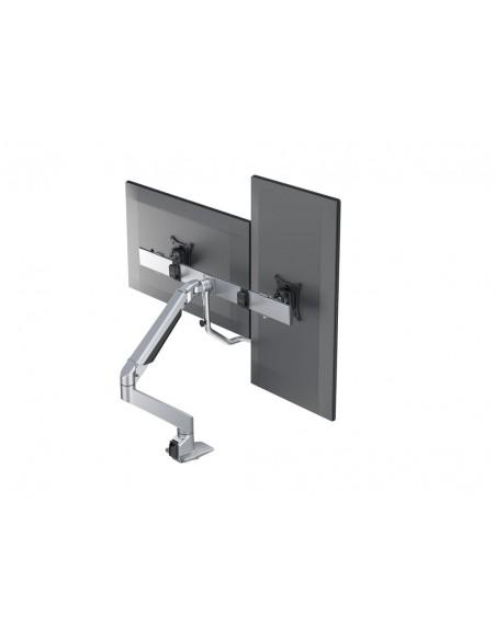 Multibrackets M VESA Gas Lift Arm w. Duo Crossbar 2 Silver Multibrackets 7350073736362 - 15