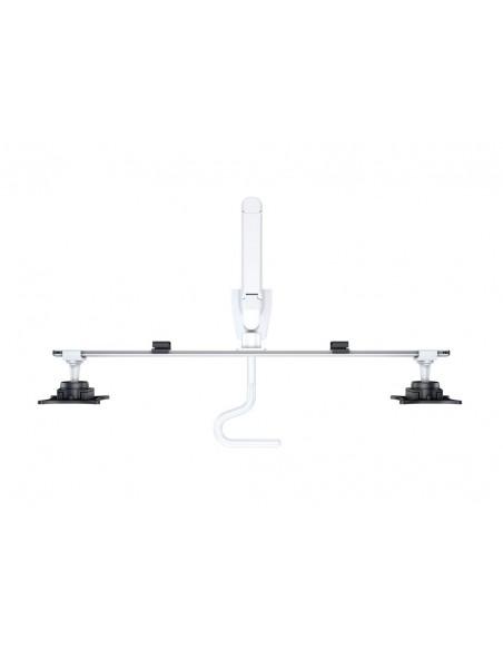 Multibrackets M VESA Gas Lift Arm w. Duo Crossbar 2 White Multibrackets 7350073736379 - 7