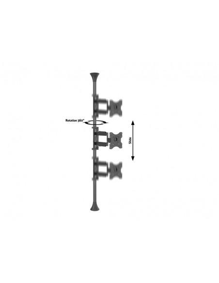 """Multibrackets 6393 fäste för skyltningsskärm 116.8 cm (46"""") Svart Multibrackets 7350073736393 - 9"""