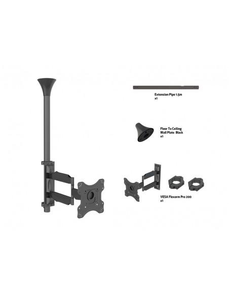 """Multibrackets 6416 kyltin näyttökiinnike 106.7 cm (42"""") Musta Multibrackets 7350073736416 - 7"""