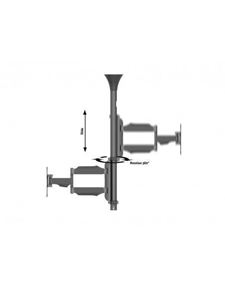 Multibrackets M Ceiling Mount Pro MBC1F, VESA 200 Multibrackets 7350073736416 - 9