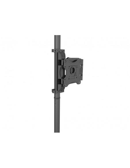 """Multibrackets 6416 fäste för skyltningsskärm 106.7 cm (42"""") Svart Multibrackets 7350073736416 - 10"""