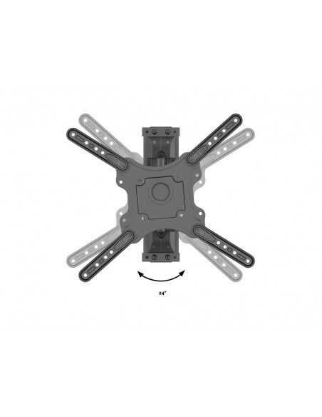 """Multibrackets 6423 kyltin näyttökiinnike 106.7 cm (42"""") Musta Multibrackets 7350073736423 - 12"""