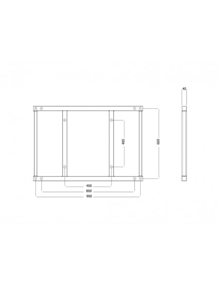 Multibrackets 6515 tillbehör till bildskärmsfäste Multibrackets 7350073736515 - 7