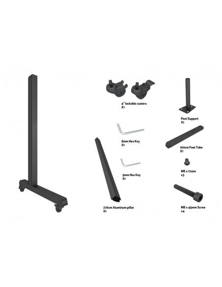 Multibrackets M Pro Series - Wheelbase 270cm inc castors Multibrackets 7350073736607 - 7