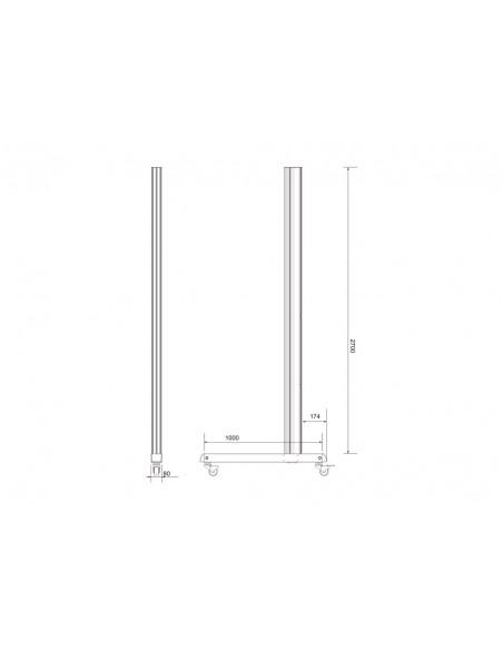 Multibrackets 6607 monitorikiinnikkeen lisävaruste Multibrackets 7350073736607 - 8