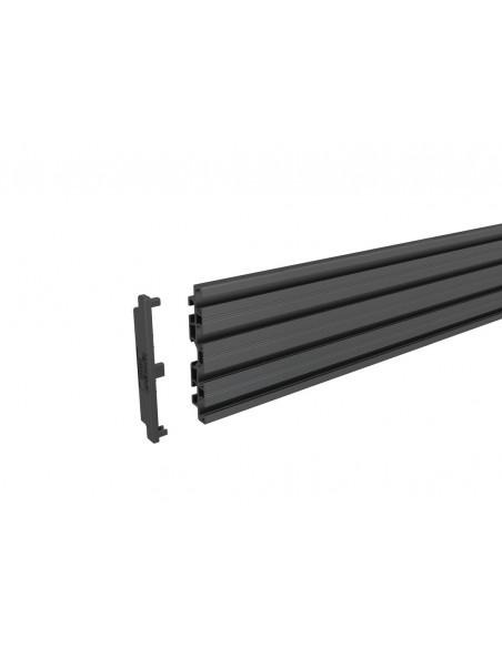"""Multibrackets 6621 kyltin näyttökiinnike 165.1 cm (65"""") Musta Multibrackets 7350073736621 - 10"""