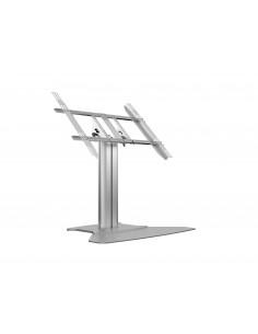Multibrackets M Public Display Stand 80 HD Floorbase Single Silver Multibrackets 7350073736805 - 1