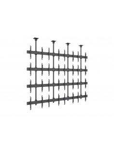 "Multibrackets 7864 signage display mount 165.1 cm (65"") Musta Multibrackets 7350073737864 - 1"