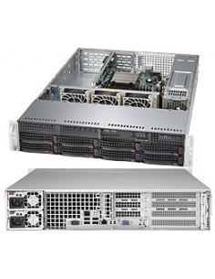 Supermicro SuperServer 5028R-WR Intel® C612 LGA 2011 (Socket R) Teline ( 2U ) Hopea Supermicro 8600258119 - 1