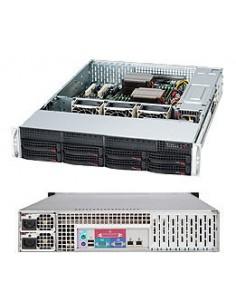 Supermicro SuperChassis 825TQC-R1K03LPB Teline Musta 1000 W Supermicro CSE-825TQC-R1K03LPB - 1