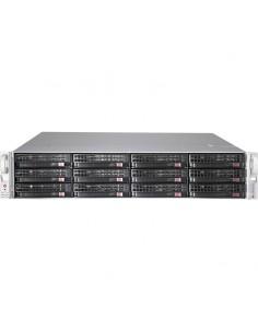 Supermicro CSE-826BE2C-R920LPB tietokonekotelo Teline Musta, Ruostumaton teräs 920 W Supermicro CSE-826BE2C-R920LPB - 1