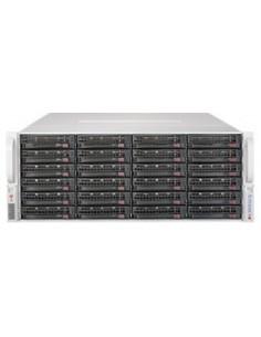 Supermicro 6048R-E1CR36H Intel® C612 LGA 2011 (Socket R) Teline ( 4U ) Musta, Hopea Supermicro SSG-6048R-E1CR36H - 1