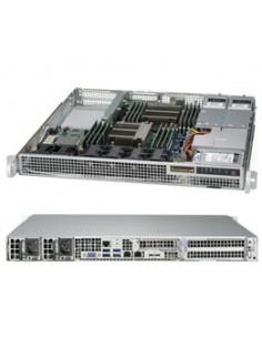 Supermicro 1028R-WMR Intel® C612 LGA 2011 (Socket R) Teline ( 1U ) Harmaa Supermicro SYS-1028R-WMR - 1