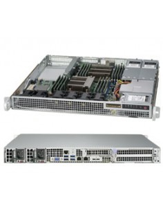 Supermicro 1028R-WMRT Intel® C612 LGA 2011 (Socket R) Rack (1U) Grey Supermicro SYS-1028R-WMRT - 1