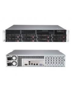 Supermicro SuperServer 6028R-TR Intel® C612 LGA 2011 (Socket R) Rack (2U) Black Supermicro SYS-6028R-TR - 1
