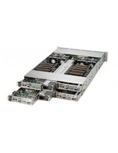 Supermicro 6028TR-HTR Intel® C612 LGA 2011 (Socket R) Teline ( 2U ) Musta Supermicro SYS-6028TR-HTR - 1