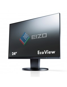 "EIZO FlexScan EV2450 60.5 cm (23.8"") 1920 x 1080 pikseliä Full HD LED Musta Eizo EV2450-BK-UK - 1"