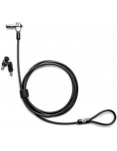HP Nano Master Keyed cable lock Black, Metallic 1.83 m Hp 1AJ40AA - 1