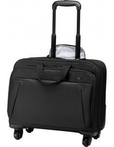 """HP Business Roller Case laukku kannettavalle tietokoneelle 43.9 cm (17.3"""") Tietokonelaukku pyörillä Musta Hp 2SC68AA - 1"""