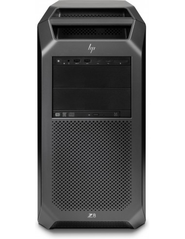 HP Z8 G4 4108 Tower Intel® Xeon Silver 64 GB DDR4-SDRAM 1000 SSD Windows 10 Pro for Workstations Arbetsstation Svart Hp 2WU48EA#