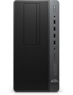 HP EliteDesk 705 G4 2400G Micro Tower AMD Ryzen 5 Pro 16 GB DDR4-SDRAM 256 SSD Windows 10 Workstation Black, Silver Hp 5HZ88EA#U