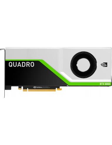 HP NVIDIA Quadro RTX 8000 48GB (4)DP+USBc GDDR6 Hp 6NB51AA - 1
