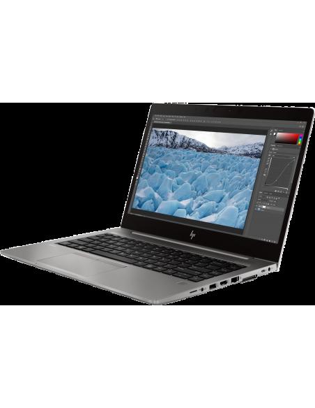 "HP ZBook 14u G6 Mobile workstation 35.6 cm (14"") 1920 x 1080 pixels Touchscreen 8th gen Intel® Core™ i7 16 GB DDR4-SDRAM 512 Hp"