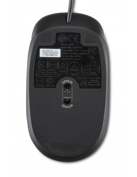 HP PS/2 mouse Ambidextrous Optical 800 DPI Hp QY775AA - 2